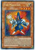Yu-Gi-Oh! - Toy Magician (TDGS-EN099) - The Duelist Genesis - 1st Edition - Secret Rare