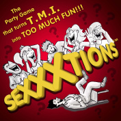 SEXXXtions - The Adult Party Game that turns TMI into Too Much Fun!