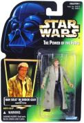 HAN SOLO IN ENDOR GEAR * WITH BLASTER PISTOL * Star Wars 1996 The Power of the Force Action Figure