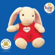 2006 McDonalds Happy Meal Toy Build-A-Bear Workshop #5 Pawlette Coufur In A Heart Dress MIP