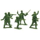 Plastic Army Men 18 Per Pack