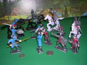 Crusader Knights Toy Soldier Set