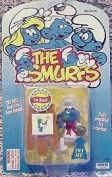 The Smurfs; Artist Smurf Figurine