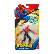 Wall Sticking Web Spider-Man (Black/Red Suite) - Spider-Man Classic Heroes Action Figure