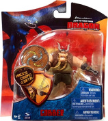 How To Train Your Dragon Movie 10cm Series 3 Action Figure Gobber with Shield