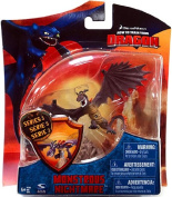 How To Train Your Dragon Movie 10cm Series 3 Action Figure Monstrous Nightmare Purple