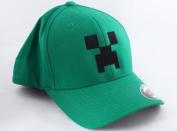 Minecraft Green Small/Medium Creeper Flexfit Hat
