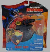 How to Train Your Dragon Exclusive 18cm Night Fury with Fireball Action Figure