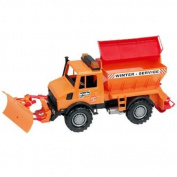 Bruder 02572 MB-Unimog Winter Service with Snow Plough
