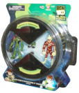 Ben 10 Alien Force Evolution 4 Pack Set 10cm Tall Action Figure - Set 1 (#94606) with Heatblast, Ben, Swampfire and Ben
