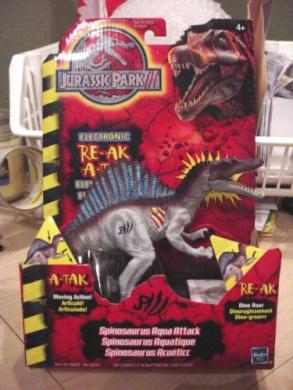 Jurassic Park III Re-Ak A-Tak Electronic Spinosaurus Aqua ...