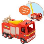 Fireman Sam Push Along Quad Vehicle With Exclusive Fireman Sam Figure