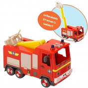 Fireman Sam Push Along Quad Vehicle With Exclusive Fireman Sam Figure