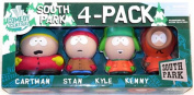 Mirage Toys Series 1 South Park 4-Pack Box Set - Includes Cartman, Stan, Kyle and Kenny Figures