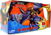 How to Train Your Dragon Playset Fire Breathing Night Fury