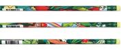 J.R. Moon Pencil JRM2137B Rainforest Assorted Pencils 12 per Box
