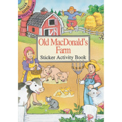 Dover Publications Old MacDonalds Farm Sticker Activity Book