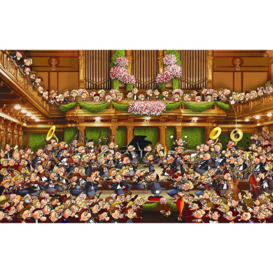orchestra 1000 piece jigsaw puzzle by piatnik shop online for toys in the united states. Black Bedroom Furniture Sets. Home Design Ideas