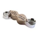 Jeweller's Loupe - Triplet & Fine Elements X10 X20 Magnifying Lenses