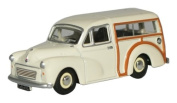 Oxford Morris Minor Traveller in Old English White 1:76 scale diecast model