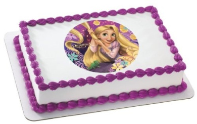 Rapunzel Cake Decorating Kit : Tangled Rapunzel Edible Cake Topper Decoration by DecoPac ...
