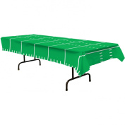 Game Day Football Tablecover 140cm . x 270cm . Pkg/12