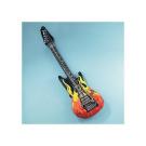 Inflatable Flame Guitars