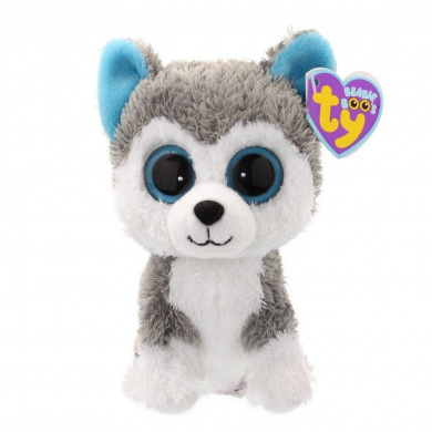 Ty Beanie Boo Slush the Husky with Adoption Certificate by ...