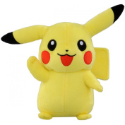 Official Pokemon Best Wishes Plush Toy - 18cm Pikachu