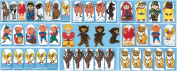 Dexter Educational Toys DEX940-1011 Dexter 9-pc. Finger Puppet Set - Story