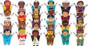 Dexter Educational Toys DEX680AP Alphabet People Puppets A to Z