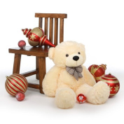 Cosy Cuddles - 100cm  - Irresistibly Cute & Extra Soft, Vanilla Cream, Plush Teddy Bear