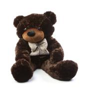 Brownie Cuddles - 120cm  - Irresistibly Cute & Extra Soft, Chocolate Brown, Plush Teddy Bear