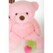 Gigi Chubs - 120cm  - Extremely Cute & Huggable, Giant Teddy Pink plush teddy bear