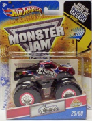 "2011 Hot Wheels Monster Jam ""Spectraflames"" #28/80 NITRO CIRCUS 1:64 Scale Collectible Truck with Monster Jam TATTOO"