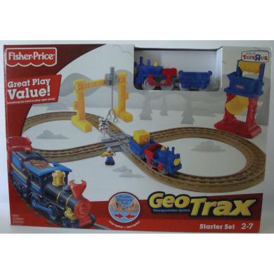 geotrax train set instructions