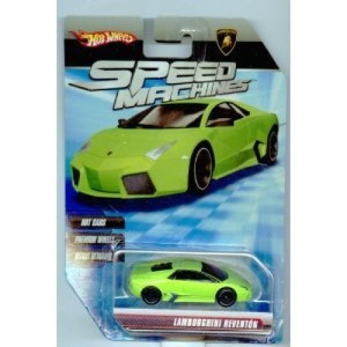 hot wheels speed machines lamborghini reventon green 1 64 scale huge saving. Black Bedroom Furniture Sets. Home Design Ideas