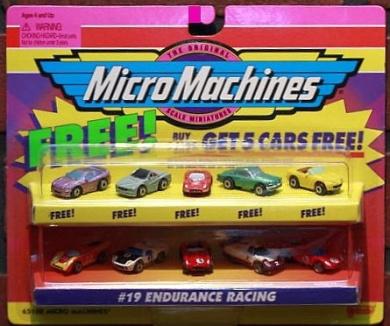 micro machine racing