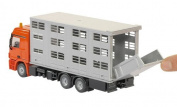 Siku 2713 Mercedes Benz Actros Ka-ba Livestock Transporter and Two Cows