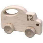 Maple Landmark 73160 SCHOOLHOUSE NATURALS PUSH N PULLS- TRUCK