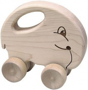 Maple Landmark 73155 SCHOOLHOUSE NATURALS PUSH N PULLS- ELEPHANT