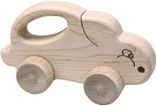 Maple Landmark 73150 SCHOOLHOUSE NATURALS PUSH N PULLS- BUNNY