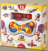 Infinitoy 13015 ZOOB 15 Piece Junior Set - Includes Large 15 ZOOB Junior Pieces and Instructions