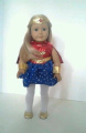 Wonder Woman Outfit for American Girl Dolls-