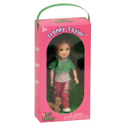 TY Li'l Ones Trendy Taylor - with Tan and Brown Dog in Box