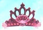 McDonalds Happy meal Barbie In A Mermaid Tale Celestial Crown Toy #2