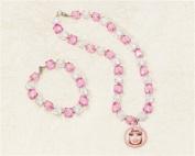 Amscan 160561 Barbie All Doll d Up Bracelet & Necklace Set