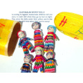 Large Guatemalan Worry Doll Box with Boys and Girls