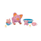Toy Teck Teacup Piglets Mommy And Piglets Bedtime Set