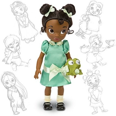 Disney Princess Animators Collection 41cm Doll Figure Tiana